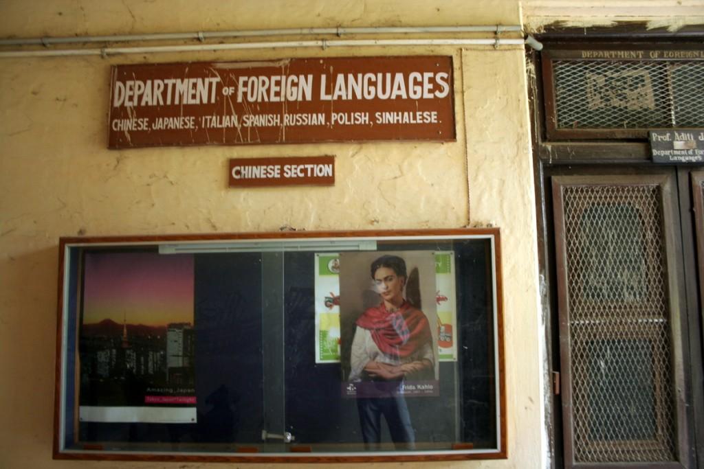 Языки которым учат здесь